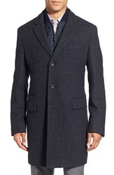 Boss Men's 'Nadim' Wool Blend Overcoat