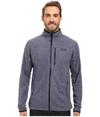 Mountain Hardwear Strecker Jacket Heather Dark Midnight Men's Jacket Blue