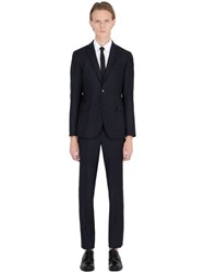 Manuel Ritz Slim Fit Super 110'S Wool Flannel Suit