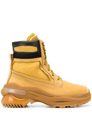 Maison Martin Margiela Work Ankle Boots Yellow