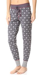 Pj Salvage Nordic Nostalgia Pants Charcoal