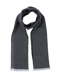 Boss Black Oblong Scarves