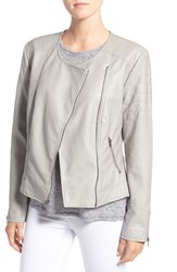 Cupcakes And Cashmere Women's 'Kadence' Faux Leather Asymmetrical Moto Jacket