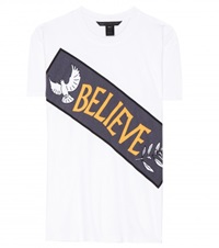 Marc By Marc Jacobs Believe Cotton T Shirt White