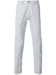 Re Hash Business Monday Slim Fit Trousers Blue