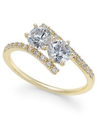 Charter Club Gold Tone Crystal Ring Only At Macy's