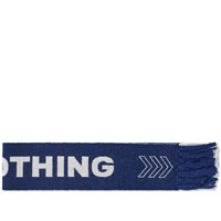 Lanvin Nothing Football Scarf Blue