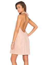 Chloe Oliver Pretty In Pink Mini Dress Peach