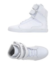 Supra Footwear High Tops And Trainers Women White