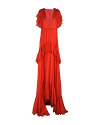 Daniele Carlotta Long Dresses Red