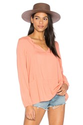 Sanctuary Lily Rose Blouse Peach