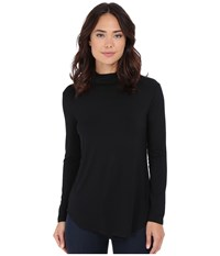 Culture Phit Hanna Mock Neck Top Black Women's Clothing
