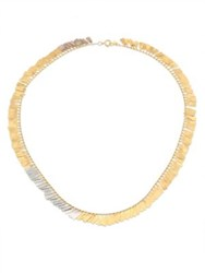 Sia Taylor Fringe 18K Yellow And White Gold Necklace