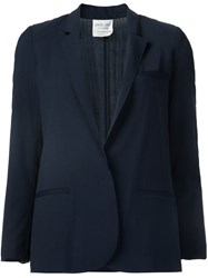 Forte Forte Fitted Jacket Blue