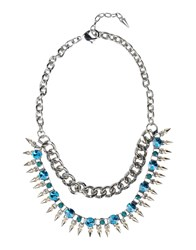 Pinko Jewellery Necklaces Women Silver