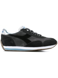 Diadora Colour Block Sneakers Grey
