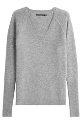J Brand Wool Pullover With Cashmere Grey