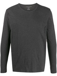 Majestic Filatures Long Sleeve T Shirt Grey
