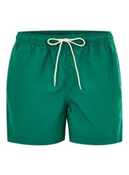 Selected Homme Green Classic Swim Shorts