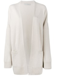 Vince Long Cardigan Nude Neutrals