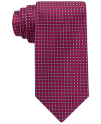 Nautica South Pacific Boxes Tie Red