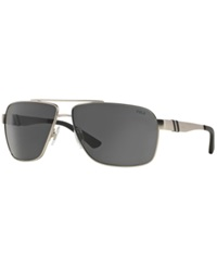 Polo Ralph Lauren Sunglasses Polo Ralph Lauren Ph3088 65 Silver Matte Grey