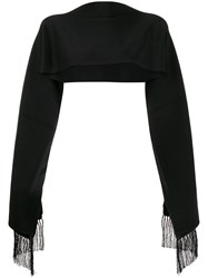 Burberry Fringed Scarf 60