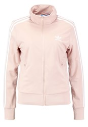 Adidas Originals Info Poster Tracksuit Top Dusty Peach Pink