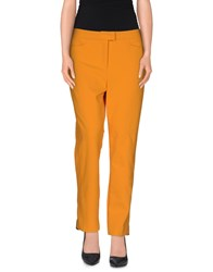 Escada Trousers Casual Trousers Women Orange