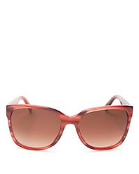 Marc By Marc Jacobs Wayfarer Sunglasses 57Mm Compare At 130 Burgundy Stripe