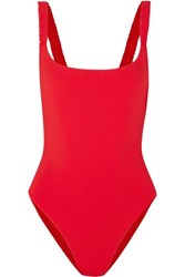 Fisch Select Swimsuit Red
