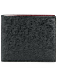 Bally Classic Bi Fold Wallet Black
