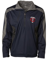 Antigua Men's Minnesota Twins Discover Half Zip Jacket