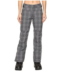 Obermeyer Essex Pants Plaid Heather Women's Casual Pants Gray