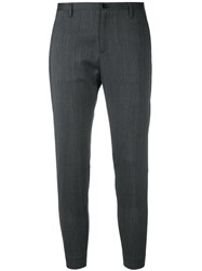 Hope Cropped Tailored Trousers Grey