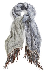Junior Women's Rip Curl 'On Holiday' Jacquard Scarf