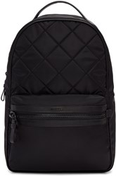 Moncler Black Quilted Nylon Backpack