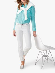 Pure Collection The Cropped Jeans White