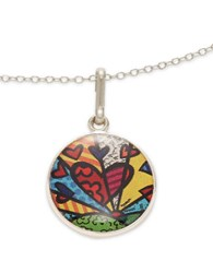 Alex And Ani A New Day Art Infusion Necklace Charm Silver