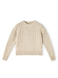 Dash Neutral Cable Knit Jumper Neutral
