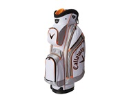 Callaway Chev Org Cart Bag White Green Orange Athletic Sports Equipment Multi