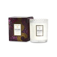 Voluspa Japonica Limited Edition Scalloped Candle Santiago Huckleberry