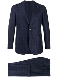 Tombolini Checked Two Piece Suit 60