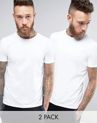 Hugo By Boss 2 Pack T Shirt White White White White