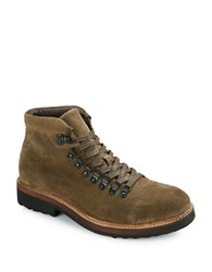 Kenneth Cole Reaction Climb The Rope Suede Boots Military