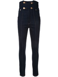 Alice Mccall Jadore High Waisted Jeans Blue