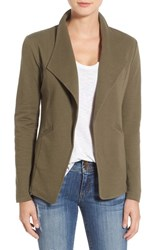 Caslonr Women's Caslon Cotton Knit Open Front Blazer