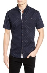 7 Diamonds Men's Night Vision Woven Shirt