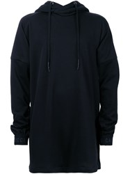 Strateas Carlucci Oversized Hoodie Black