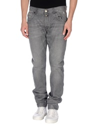 Dirk Bikkembergs Denim Pants Grey